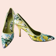 SPLASHY Summer 'Water Color' Pumps
