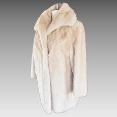EXQUISITE Schlampp's Champagne Fur Jacket