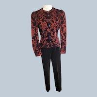 Scott McClintock Snazzy Velvet Jacket & Slacks