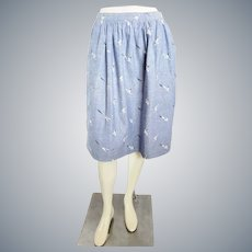 Sea Side Seagull Skirt, by Austin Hill