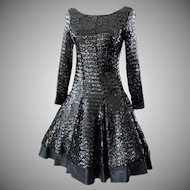 """A ''Million Sparkly Sequins"""" Dress Looking Like a Million Dollars!!"""