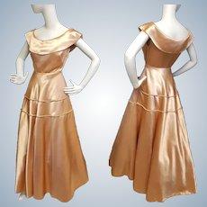 Supreme Satin Gala Gown