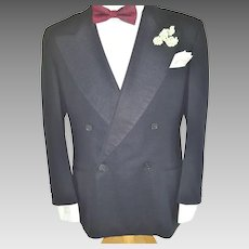 GENTLEMEN . . . Stand Out from the Crowd in this Sophisticated Vintage Tux!