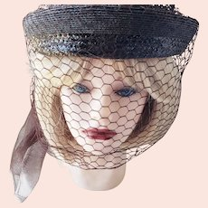 "The ""Veiled Lady"" Hat"