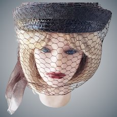 """The """"Veiled Lady"""" Hat"""