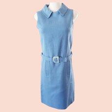 True Blue 1960's Mad Men Dress