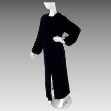 1920's Velvet, Opulent OPERA COAT