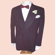 Debonair Gentleman's Vintage TUX Jacket