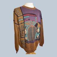 Vittorio Rocchetti ROADWAY Pullover Sweater!