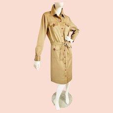 WESTERN Khaki Go-Anywhere Dress