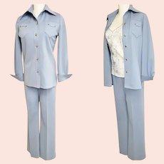 "Western-Style ""Sir Julian"" 1970's Pant Suit"