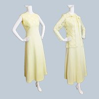You Are My SUNSHINE Jacket & Maxi Dress, 1960's