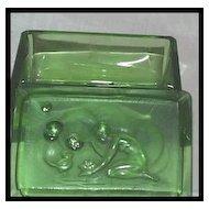 Czech Hoffman Nude Bubbles Green Perfume Box