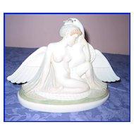 Deco Royal Copenhagen Leda and the Swan Figurine