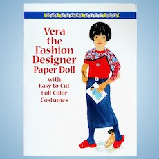 VERA the FASHION DESIGNER; One of a series of Career Paper Dolls for Young Girls from DOVER Beginners Activity Books