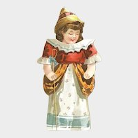 REID MURDOCH Javanese Coffee Little Bo-Peep Has Lost Her Sheep Stand Up Paper Doll; 1920's Advertising Packaging, One of a Set of 16