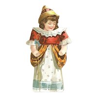 REID MURDOCH Javanese Coffee Little Bo-Peep Has Lost Her Sheep Stand Up Paper Doll; 1920's Advertising Packaging, One of a Set of 16