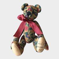 Boyd's Paisley Bear PIN; World of Miniature Bears Labeled