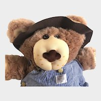 """DUDLEY FURSKIN BEAR 22"""" Tall; Signed Ltd Edition W/Letter; Huge 22"""" from 1985 Mint Xavier Roberts"""