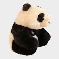 "GUND GIANT PANDA Collectors Classics; Vintage Giant 17"" Seated Panda Bear 1985 Collectors Classic Limited Edition Plush"