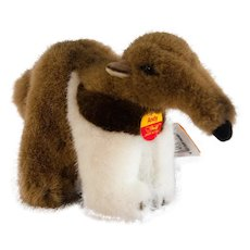 Discontinued 1995 STEIFF Tapir Anteater ANDY; Very Long 9 Inches