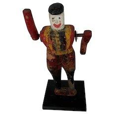 Vintage C. 1920's-30's Super Primitive Folk Art Soldier Whirligig