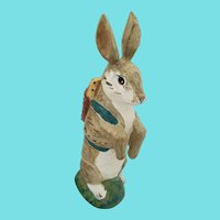 Diminutive Vintage Folk art Easter Rabbit Carving from my Collection