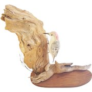 Vintage Folk Art Flicker Woodpecker Carving
