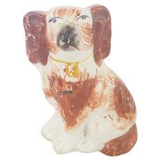 Vintage Small Size Staffordshire Dog Figurine