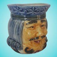Vintage High Glaze Pottery Occupied Japan Toby Mug