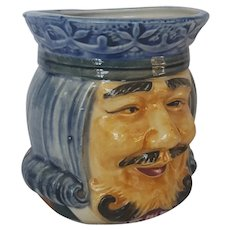 Vintage High Glaze Pottery Occupied Japan Toby Mug