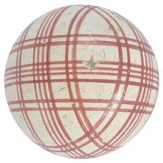 Authentic Antique Victorian Carpet Ball #1