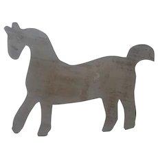 Vintage Primitive PA. Folk Art Horse Quilt Template