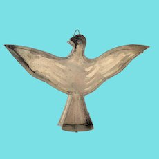 Vintage Folk Art Tin Spread Eagle Form Pastry Mold