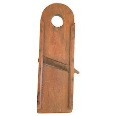 Antique Super Primitive Tombstone Top Slaw Board Kraut Cutter