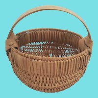 Rare Vintage Miniature Diameter Buttocks Basket #2