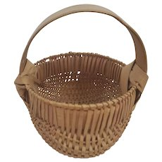 Rare Vintage Miniature Buttocks Basket#3  - 2 Tone