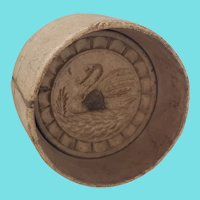 Antique Primitive Folk Art Swan Butter Mold from my Collection