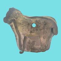 Vintage Primitive Folk Art Tin Cookie Cutter #24 (Horse)
