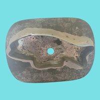 Vintage Primitive Folk Art Tin Cookie Cutter #26 (Fish)