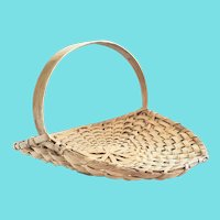 """Large 20"""" Diameter Herb or Flower Gathering Basket from my Collection"""