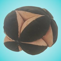 Large Antique Early 1900's PA. Amish Puzzle Ball Pin Cushion