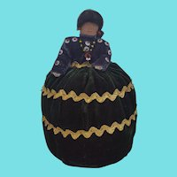 Vintage Navajo Folk Art Pin Cushion Doll from my Collection #3