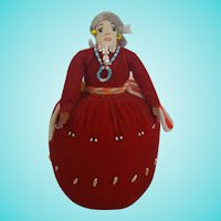 Vintage Navajo Folk Art Pin Cushion Doll from my Collection #4