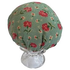 Diminutive Floral Fabric Make-Do Pin Cushion from My Collection