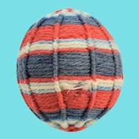 Late 19th C. PA. Folk Art Yarn Ball Pin Cushion #5