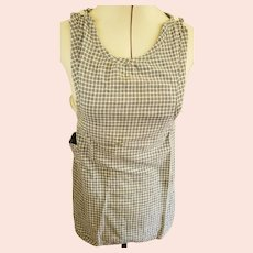 Sweet Antique Late 19th Early 20th C. Child's Homespun Apron