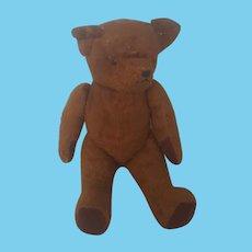 Vintage Jointed Brown Mohair Teddy Bear