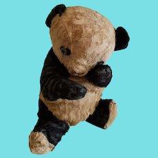 Well Loved Make Do Vintage Panda Bear Stuffed Toy