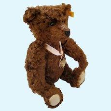 2005 Brown Steiff Teddy Bear w/Original Medal, Ear Button, & Tags